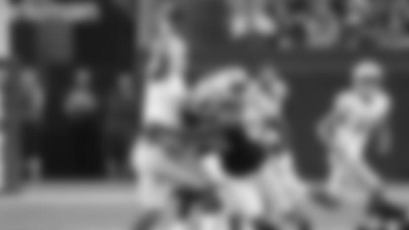 Nicholas Morrow makes key fourth-down sack