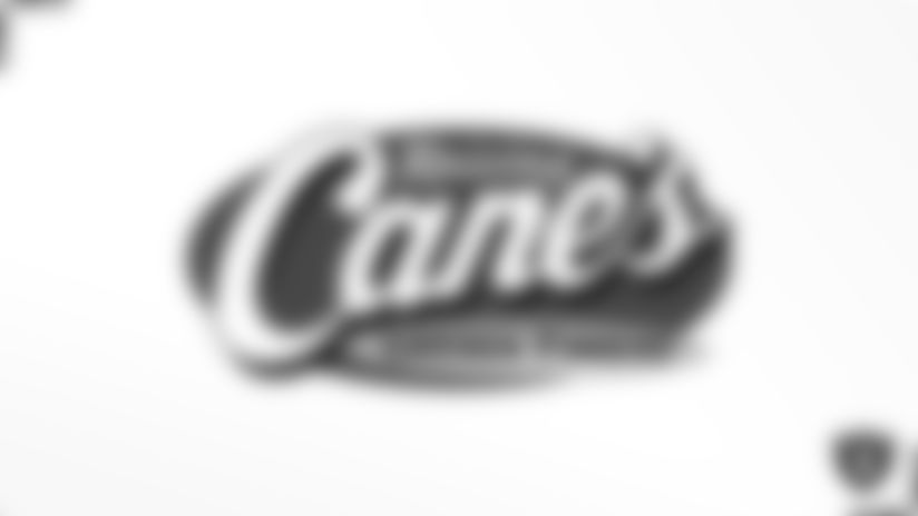 Raiders again team up with Raising Cane's Chicken Fingers to send lucky Las Vegas residents to Raiders game