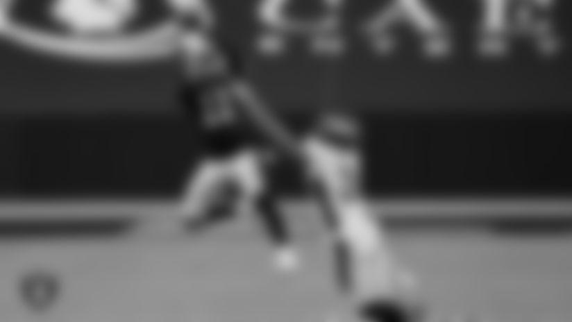 Las Vegas Raiders wide receiver Henry Ruggs III (11) during the regular season game against the Denver Broncos at Allegiant Stadium.