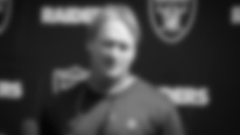 Coach Gruden previews the Los Angeles Rams