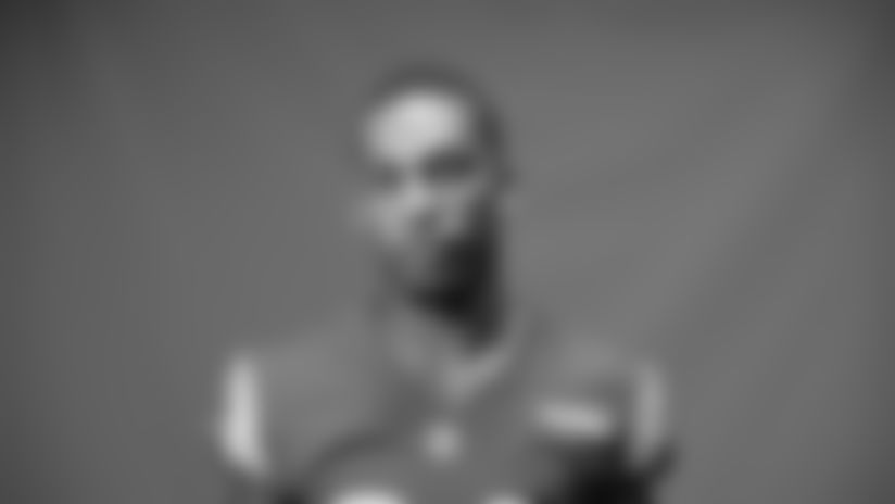 This is a 2020 photo of Troy Hill of the Los Angeles Rams NFL football team.  This image reflects the Los Angeles Rams active roster as of August 8th, 2020 when this image was taken. (Los Angeles Rams)