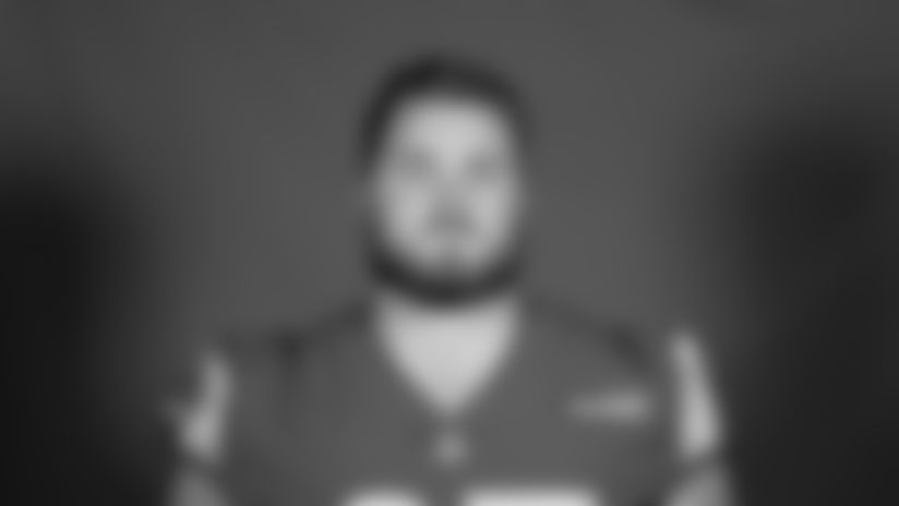 This is a 2020 photo of Coleman Shelton of the Los Angeles Rams NFL football team.  This image reflects the Los Angeles Rams active roster as of August 8th, 2020 when this image was taken. (Los Angeles Rams)
