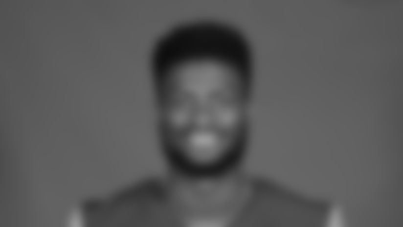 This is a 2020 photo of Van Jefferson of the Los Angeles Rams NFL football team.  This image reflects the Los Angeles Rams active roster as of August 8th, 2020 when this image was taken. (Los Angeles Rams)