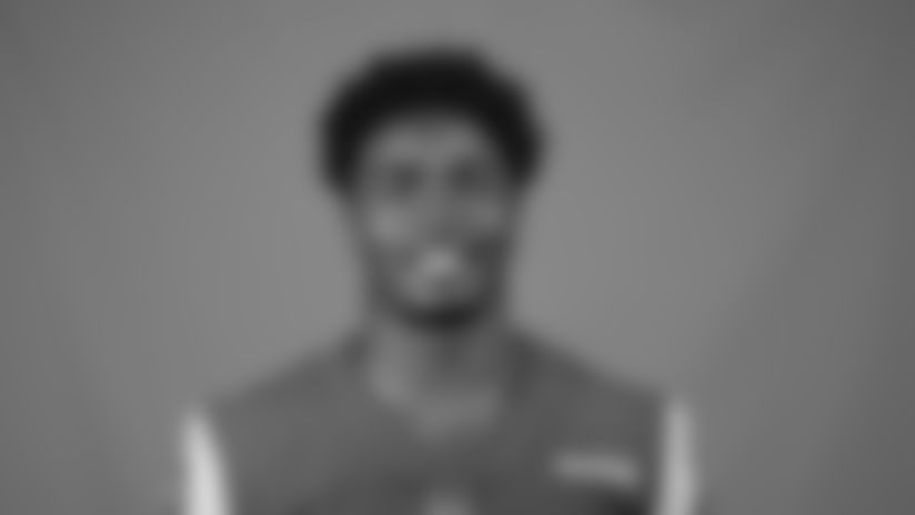 This is a 2020 photo of Darious Williams of the Los Angeles Rams NFL football team.  This image reflects the Los Angeles Rams active roster as of August 8th, 2020 when this image was taken. (Los Angeles Rams)