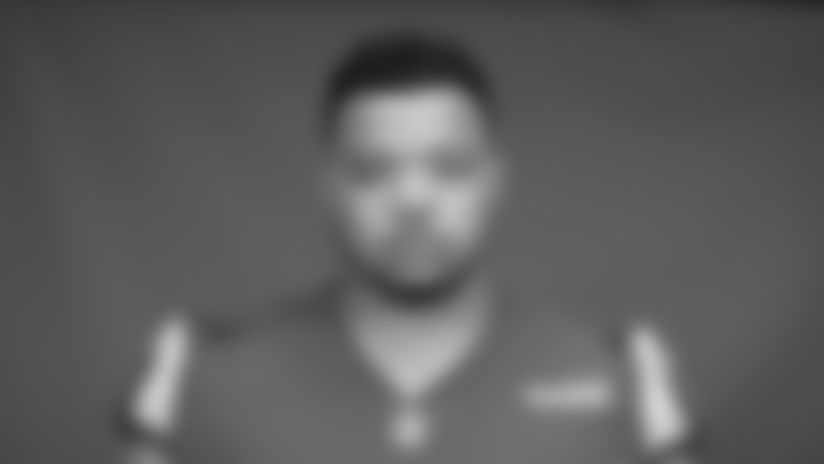 This is a 2020 photo of Joe Noteboom of the Los Angeles Rams NFL football team.  This image reflects the Los Angeles Rams active roster as of August 8th, 2020 when this image was taken. (Los Angeles Rams)