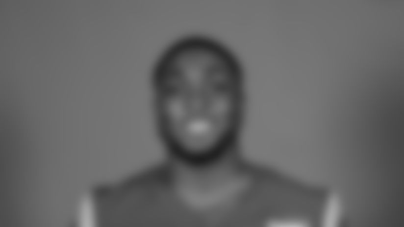 This is a 2020 photo of Bryce Perkins of the Los Angeles Rams NFL football team.  This image reflects the Los Angeles Rams active roster as of August 8th, 2020 when this image was taken. (Los Angeles Rams)