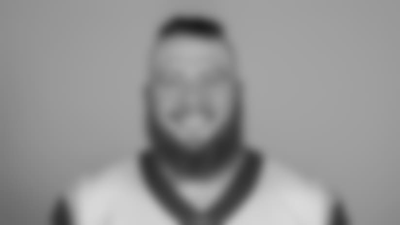 Headshot of Center/guard (72) Aaron Neary of the Los Angeles Rams, Thursday, June 11, 2018, in Thousand Oaks, CA.