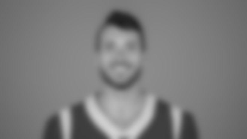Quarterback (8) Brandon Allen of the Los Angeles Rams headshot, Monday, June 10, 2019, in Thousand Oaks, CA. (Jeff Lewis/Rams)