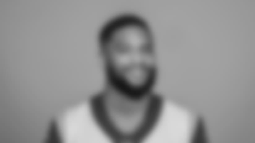 Headshot of Khadarel Hodge of the Los Angeles Rams.