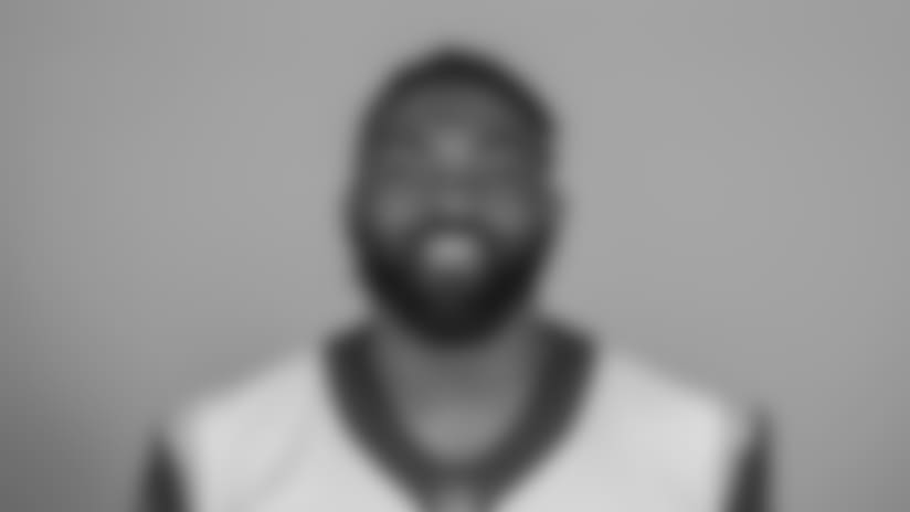 Headshot of Defensive lineman (90) Michael Brockers of the Los Angeles Rams, Thursday, June 11, 2018, in Thousand Oaks, CA.