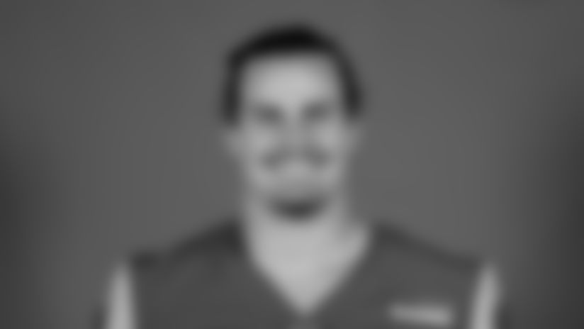 This is a 2020 photo of Christian Rozeboom of the Los Angeles Rams NFL football team.  This image reflects the Los Angeles Rams active roster as of August 8th, 2020 when this image was taken. (Los Angeles Rams)