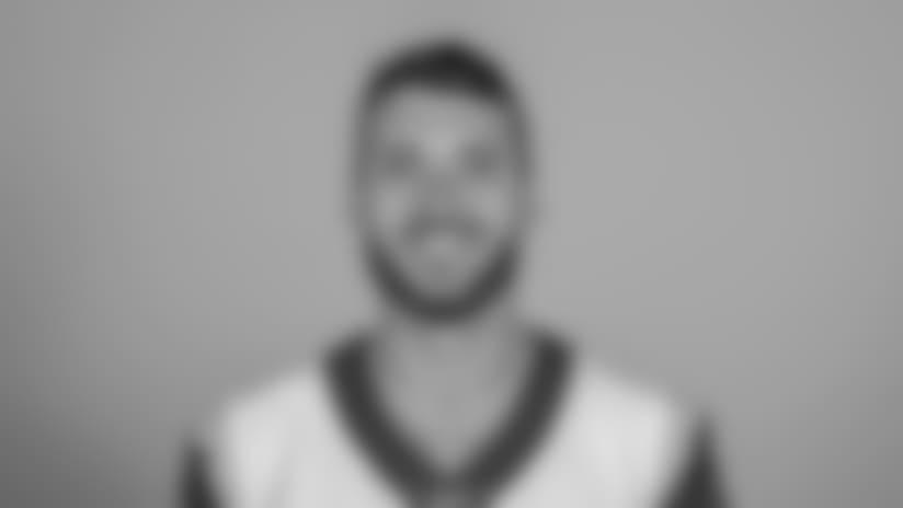 Headshot of Quarterback (8) Brandon Allen of the Los Angeles Rams, Thursday, June 11, 2018, in Thousand Oaks, CA.
