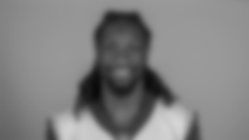 Headshot of tight end (84) Temarrick Hemingway of the Los Angeles Rams, Thursday, June 11, 2018, in Thousand Oaks, CA.