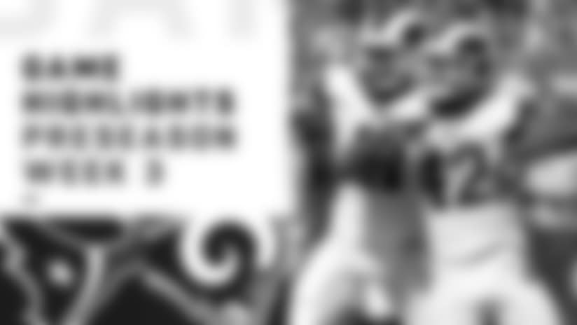 Texans vs. Rams Highlights | Preseason Week 3