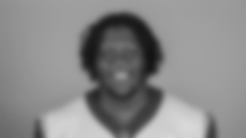 Headshot of Guard (68) Jamon Brown of the Los Angeles Rams, Thursday, June 11, 2018, in Thousand Oaks, CA.