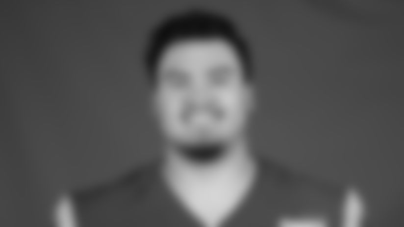 This is a 2020 photo of Cohl Cabral of the Los Angeles Rams NFL football team.  This image reflects the Los Angeles Rams active roster as of August 8th, 2020 when this image was taken. (Los Angeles Rams)