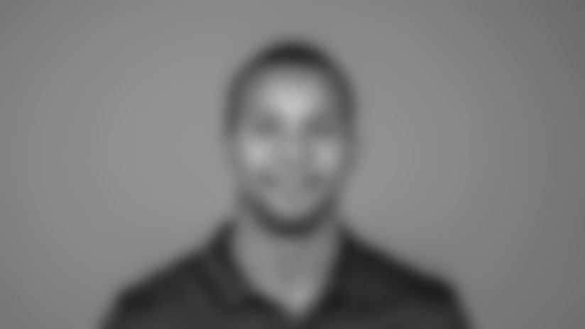 Dustin Woods of the Los Angeles Rams' headshot, Thursday, April 25, 2019, in Thousand Oaks, CA. (Jeff Lewis/Rams)