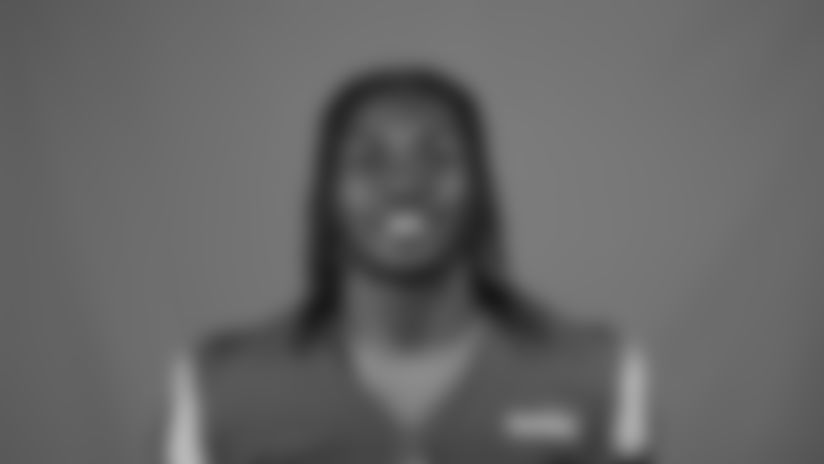 This is a 2020 photo of David Long Jr. of the Los Angeles Rams NFL football team.  This image reflects the Los Angeles Rams active roster as of August 8th, 2020 when this image was taken. (Los Angeles Rams)