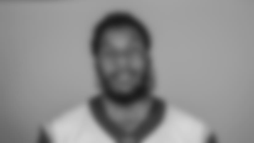 Headshot of defensive end (95) Ethan Westbrooks of the Los Angeles Rams, Thursday, June 11, 2018, in Thousand Oaks, CA.