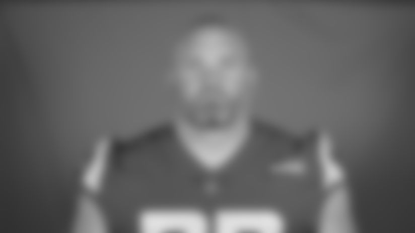 This is a 2020 photo of Andrew Whitworth of the Los Angeles Rams NFL football team.  This image reflects the Los Angeles Rams active roster as of August 8th, 2020 when this image was taken. (Los Angeles Rams)
