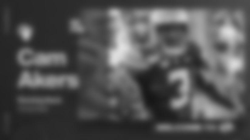 Draft Homepage: Cam Akers