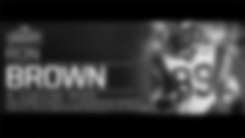 Rams Honor Legend Ron Brown
