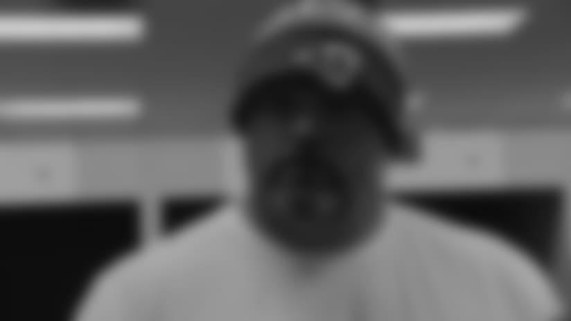 Andrew Whitworth Postgame Locker Room Interview 10-14