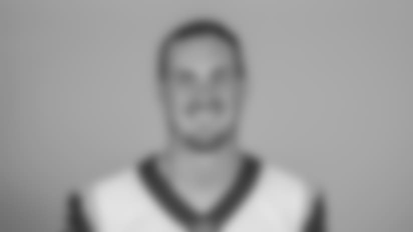 Headshot of quarterback (14) Sean Mannion of the Los Angeles Rams, Thursday, June 11, 2018, in Thousand Oaks, CA.
