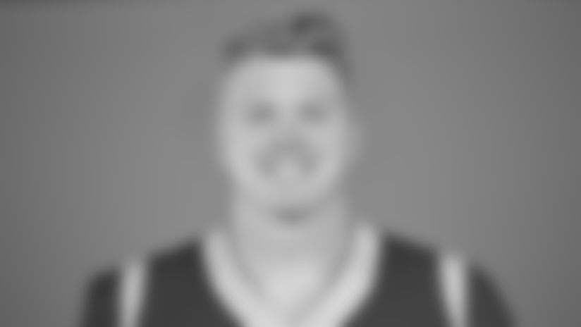 This is a 2019 photo of Ethan Wolf of the Los Angeles Rams NFL football team. This image reflects the Rams active roster as of December 4, 2019, when this image was taken. (AP Photo)