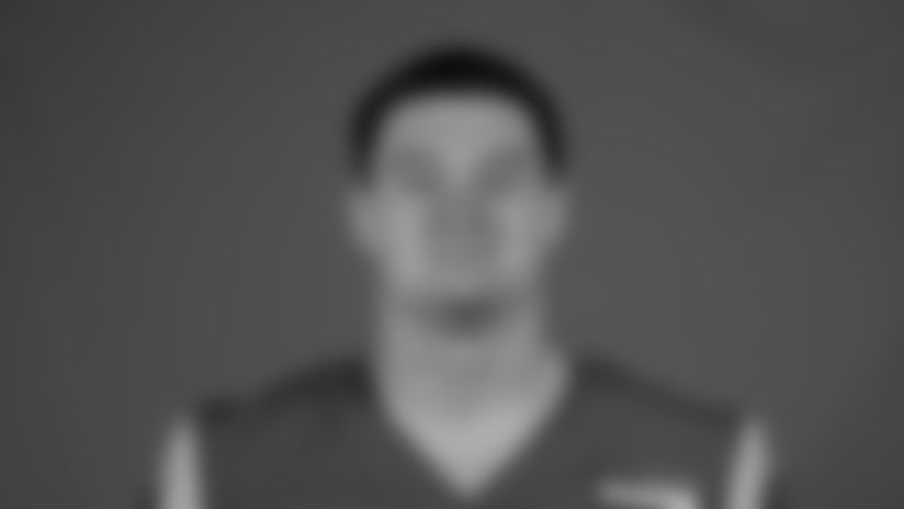This is a 2020 photo of Michael Hoecht of the Los Angeles Rams NFL football team.  This image reflects the Los Angeles Rams active roster as of August 8th, 2020 when this image was taken. (Los Angeles Rams)