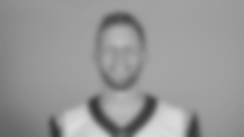 Headshot of punter (6) Johnny Hekker of the Los Angeles Rams, Thursday, June 11, 2018, in Thousand Oaks, CA.