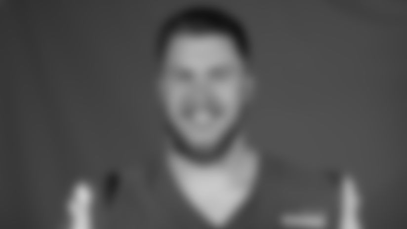 This is a 2020 photo of Jonah Williams of the Los Angeles Rams NFL football team.  This image reflects the Los Angeles Rams active roster as of August 8th, 2020 when this image was taken. (Los Angeles Rams)