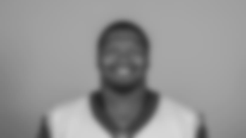 Headshot of defensive tackle (92) Tanzel Smart of the Los Angeles Rams, Thursday, June 11, 2018, in Thousand Oaks, CA.