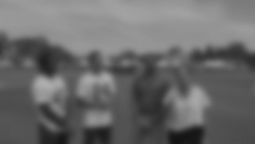 David Long Jr. + Taylor Rapp talk through their first Rams Camp