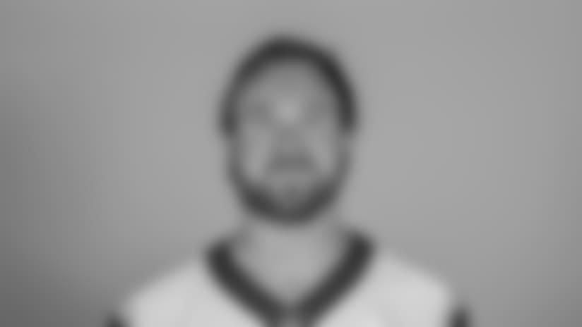 Headshot of linebacker (96) Matt Longacre of the Los Angeles Rams, Thursday, June 11, 2018, in Thousand Oaks, CA.