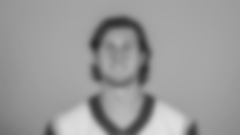 Headshot of tight end (82) Johnny Mundt of the Los Angeles Rams, Thursday, June 11, 2018, in Thousand Oaks, CA.