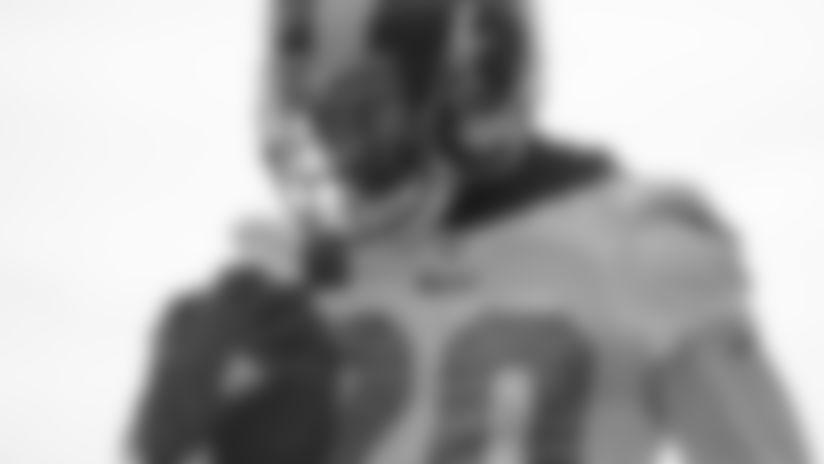 Cornerback (20) Jalen Ramsey of the Los Angeles Rams practices, Wednesday, November 13, 2019, in Thousand Oaks, CA. (Jeff Lewis/Rams)
