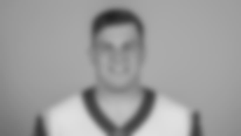 Headshot of Center (66) Austin Blythe of the Los Angeles Rams, Thursday, June 11, 2018, in Thousand Oaks, CA.