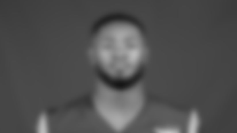 This is a 2020 photo of Terrell Burgess of the Los Angeles Rams NFL football team.  This image reflects the Los Angeles Rams active roster as of August 8th, 2020 when this image was taken. (Los Angeles Rams)