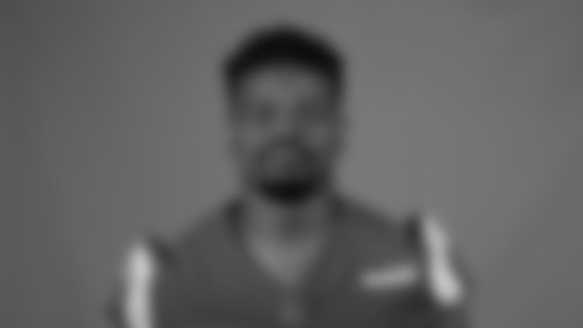 This is a 2020 photo of Malcolm Brown of the Los Angeles Rams NFL football team.  This image reflects the Los Angeles Rams active roster as of August 8th, 2020 when this image was taken. (Los Angeles Rams)