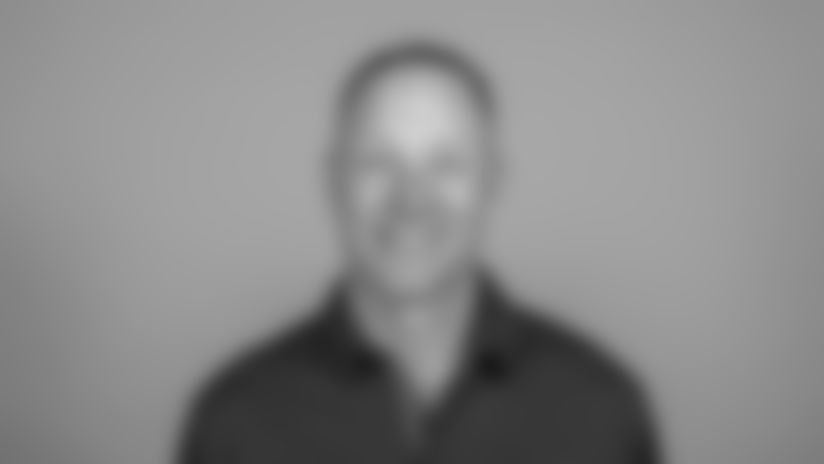 This is a 2019 photo of Aaron Kromer of the Los Angeles Rams NFL football team. This image reflects the Rams active roster as of June 10, 2019, when this image was taken. (AP Photo)