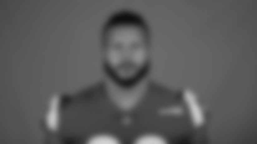 This is a 2020 photo of Aaron Donald of the Los Angeles Rams NFL football team.  This image reflects the Los Angeles Rams active roster as of August 8th, 2020 when this image was taken. (Los Angeles Rams)