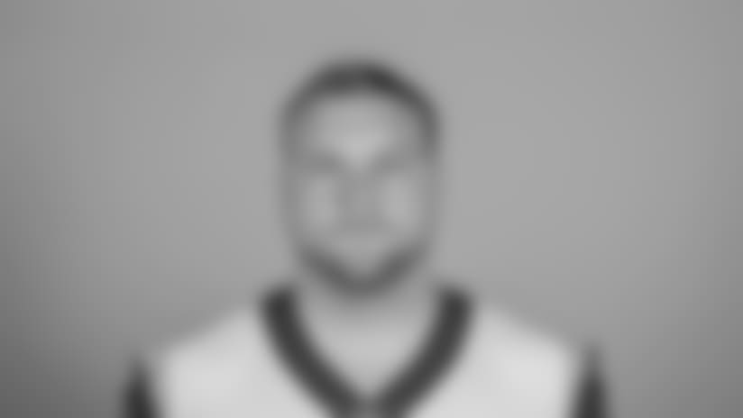 Headshot of Center (55) Brian Allen of the Los Angeles Rams, Thursday, June 11, 2018, in Thousand Oaks, CA.