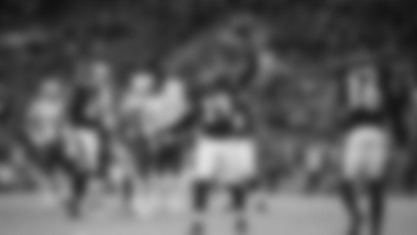 Skycam: Earl Thomas Knocks Away Goal-Line Pass
