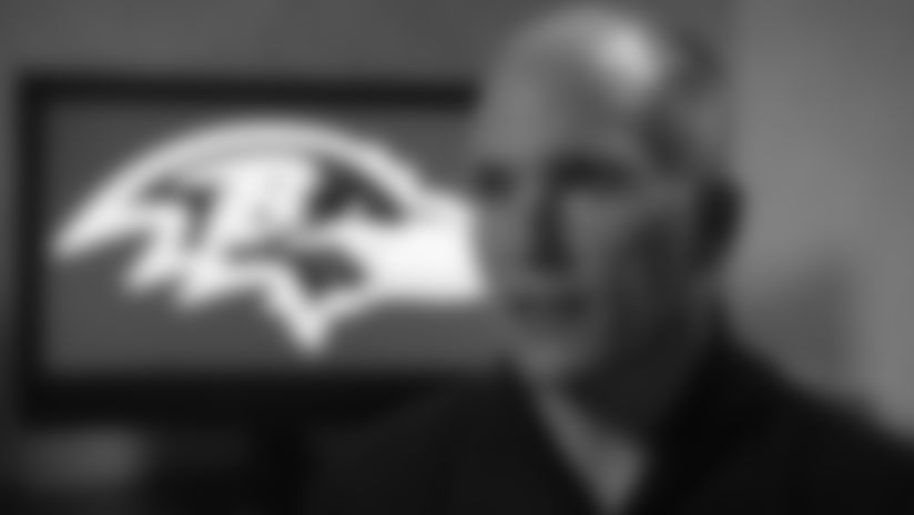 Ravens General Manager Eric Decosta
