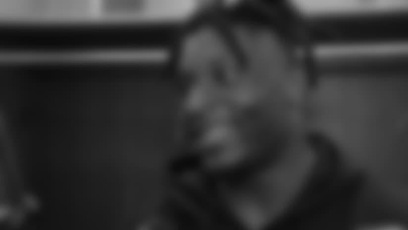 Patrick Onwuasor Talks About Giving Martindale a Gatorade Bath