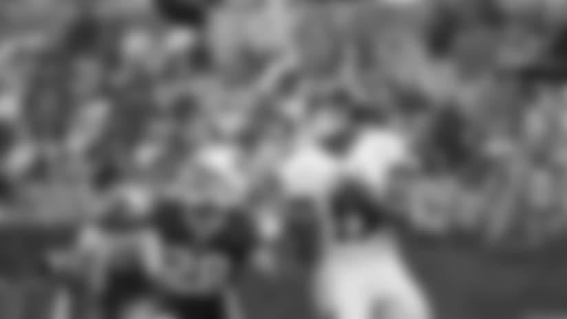 Highlight: Joe Flacco Drops Perfect TD Pass to Michael Crabtree