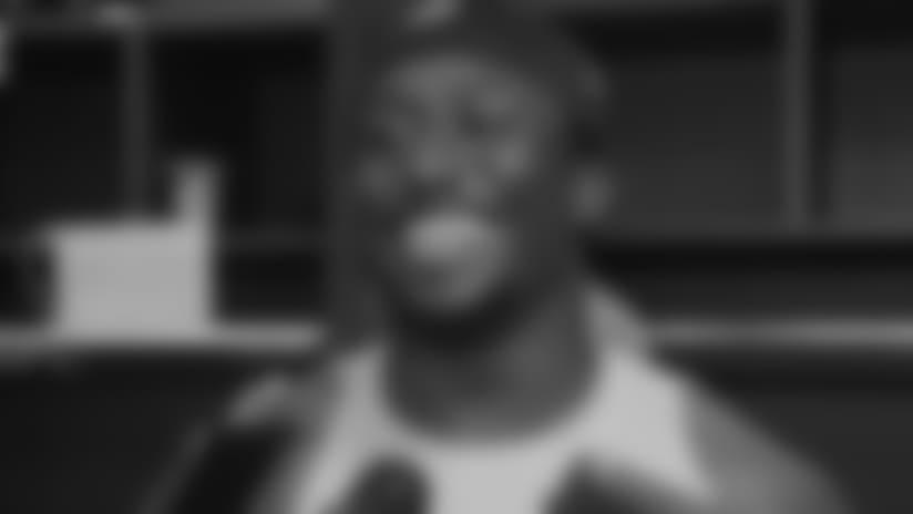 Locker Room: Tavon Young Says He Felt Like a D-Lineman