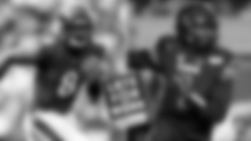 QBs Lamar Jackson and Tyler Huntley