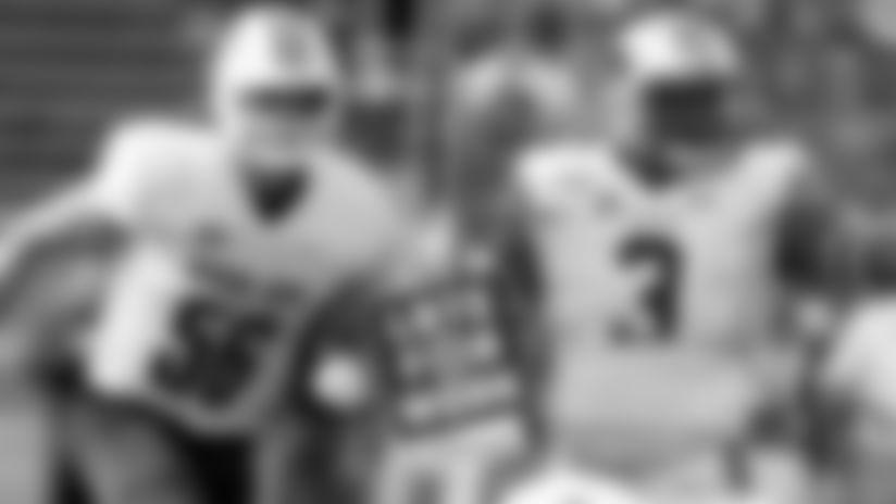 Wisconsin linebacker Zack Baunand Auburn defensive end Marlon Davidson.